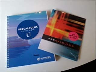 Hawkes Learning Precalculus Access Code + Guided Notes: Paul