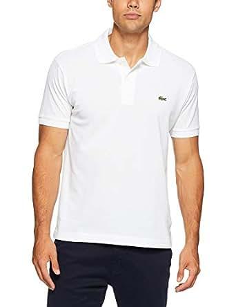 Lacoste Men's L1212 Classic Fit Polo Shirt, White , XL