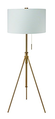 - Major-Q 31171f-SG Tall Tripod Adjustable Floor Lamp, Gold, x-Large,