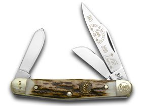 Stockman Deer - Hen and Rooster 165th Anniversary Genuine Deer Stag Stockman 1/165 Pocket Knife Knives