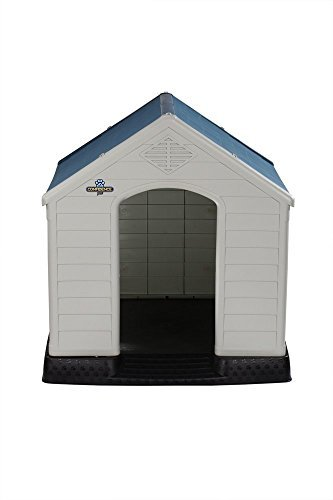 Confidence Pet Waterproof Plastic Dog Kennel Outdoor Winter House (Extra Large) (Certified Refurbished)