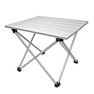 FDABFU - Mesa de Camping Plegable de Aluminio, Ultraligera ...