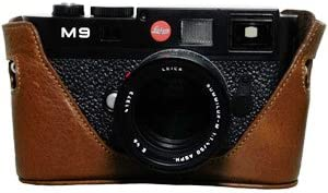 Black Label Bag Half-case for Leica M9 Dark Brown