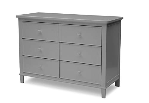 Delta Children Haven 6 Drawer Dresser, Grey from Delta Children