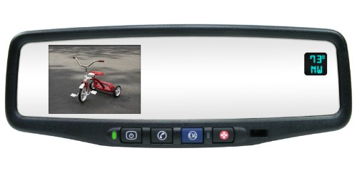 - Rostra 250-8803-CMOS Magna 3.5-Inch TFT LCD GM Replacement Rear View Mirror Monitor and 1/4-Inch CCD Color Camera