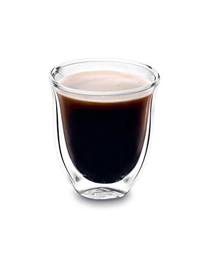 DeLonghi Double Walled Thermo Espresso Glasses, Set of 2 by DeLonghi (Image #1)