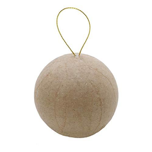 - Bulk Buy: Darice DIY Crafts Paper Mache Ball 2-1/2 inches (6-Pack) 2833-55