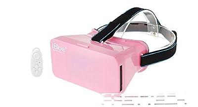 iBlue Virtual Reality VR 3D Video Glasses w/ Bluetooth V3.0 Game Control
