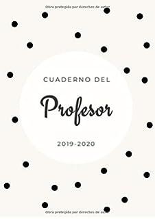 Agenda de profesores 2019/2020: DIN A4 | planificador 2019 ...