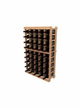 WineMaker Series Wine Rack - 5 Column - 3 Ft - Pine (6 Column Wine Rack)