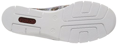 Sneaker White Antistress Rieker Doris Multi Pq66n7RT