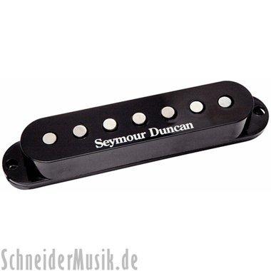 Seymour Duncan Vintage Staggered SSL-1 Single-Coil 7-String Electric Guitar Pickup Black