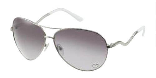 42749d9b9c7 Guess GU7021 SI 35 F Women's Sunglasses Heart Crystals Silver White ...