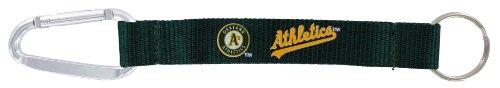 MLB Oakland Athletics Carabiner Lanyard Key Ring
