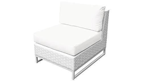 TK Classics TKC047b-AS Miami Seating Outdoor Furniture, Sail White (Cheap Furniture Outdoor Miami)