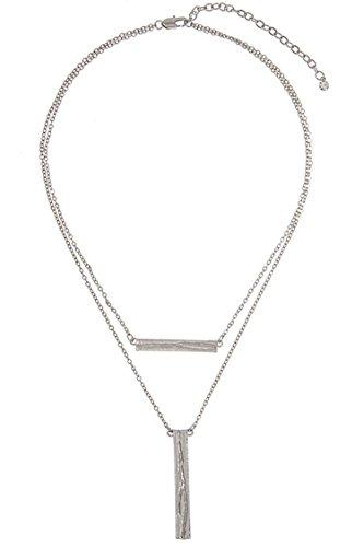 glitz-finery-double-sided-flat-finish-detailed-pendant-necklace-rhodium