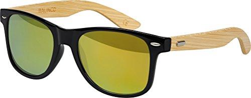 choix Charnière Bambou Or Unisex Nerd Rétro Lunettes Bois à De avec Soleil Gomme lunettes Style Bambou différentes 9 Vintage Modèles Étamé couleurs au ressort haute qualité gq6Bn