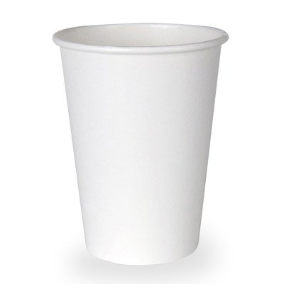 Hot Paper Cup in White by Dixie