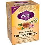 YOGI TEA,OG3,SWT TANG,POS ENRG, 16 BAG