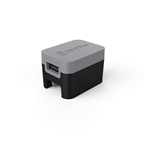 Griffin PowerBlock Universal Wall Charger-Black/Grey