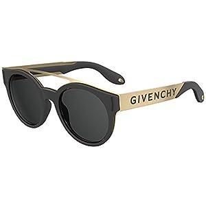 Sunglasses Givenchy Gv 7017/N/S 02M2 Black Gold/IR gray blue lens