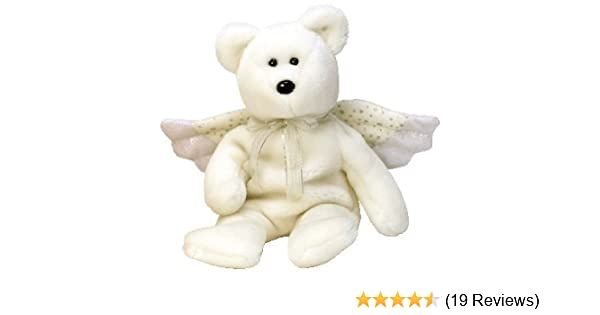 bcc4f5204ed Amazon.com  TY Beanie Baby - HERALD the Angel Bear  Toys   Games