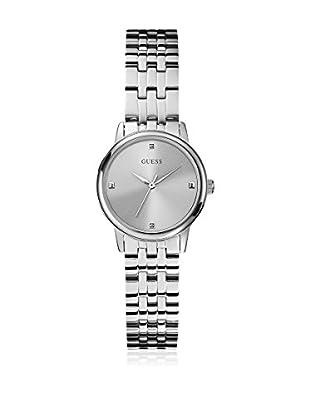 5aa991b4c527 Guess Reloj con movimiento mecánico japonés Woman Lady Wafer Silver Tone