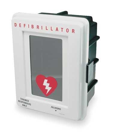 Defibrillator Storage Cabinet, Wall Mount