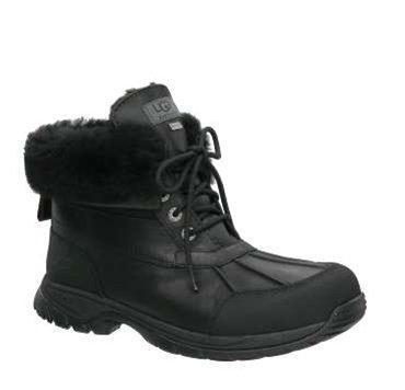 UGG Hilgard black, Größen:49.5