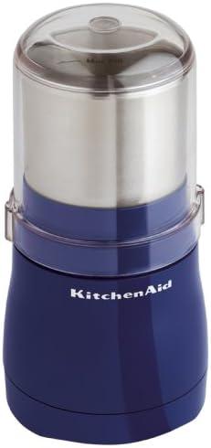 Amazon Com Kitchenaid Coffee Grinder Cobalt Blue Kitchen Dining