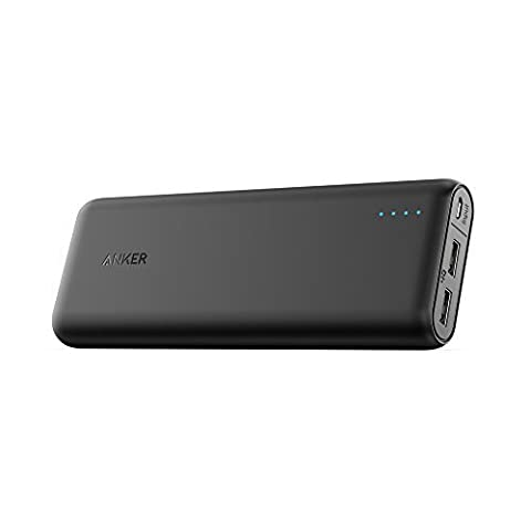 Anker 20000mAh Portable Charger PowerCore 20100 - Ultra High Capacity Power Bank with 4.8A Output, PowerIQ Technology for iPhone, iPad & Samsung Galaxy & More – (Best Samsung S5 Case)