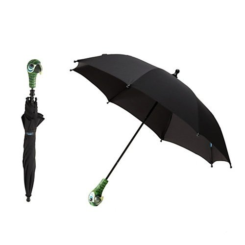 Disney Store Mary Poppins The Broadway Musical - Parrot Umbrella for Kids]()