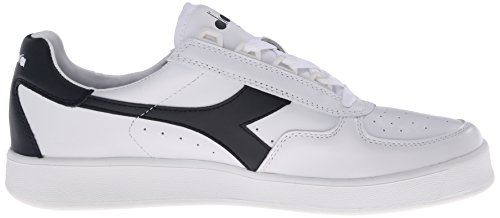 Diadora Mens B.elite Court Shoe Bianco / Blu Scuro