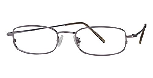 Flexon Flx 803Mag-Set Eyeglasses 035 Steel Demo 49 19 140 ()