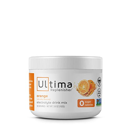 New Ultima Hydrating Electrolyte Powder, Orange, 30 Servings ()