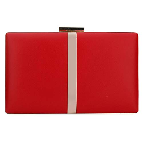 Red Designer EROUGE Handbag Purse Evening Cocktail Clutch Elegant Party Wedding For Womens Clutch 7C5Cq