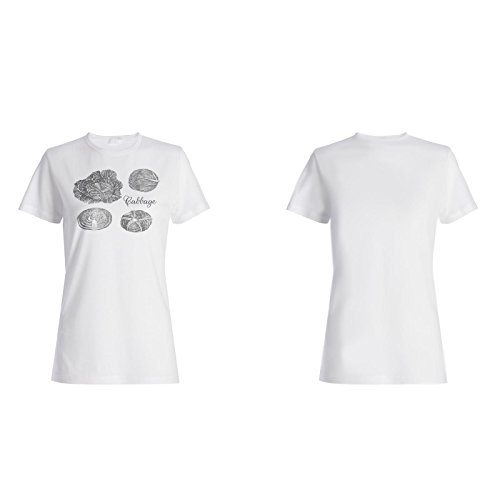 Neue Handgekohl Damen T-shirt h870f