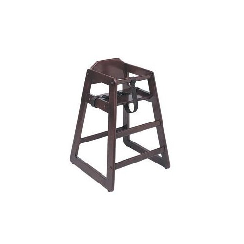 Update International WD-HCM19 Wood Baby High Chair -