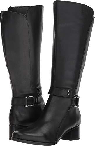 a8489fc7523c Naturalizer Women s Dane Wide Calf Black Leather 8 M US
