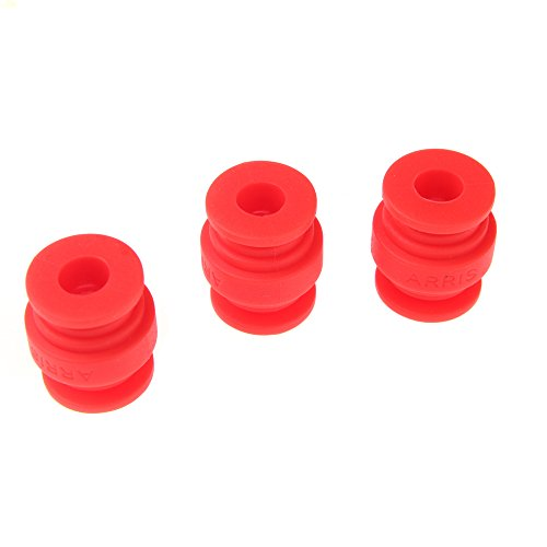 Goolsky 40Pcs FPV Vibration Damping Balls for Gimbals Gopro DJI Quadcopter Aerial Photograpy Red
