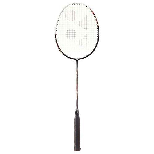 YONEX Badminton Racket ARCSABER Series with Full Cover High Tension Pre Strung Racquets (ARCSABER 100 (Balck/White))