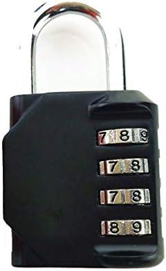 Tivollyff デジタルコンビネーションロック荷物のパドロックリセット可能なセキュリティナンバートラベルスーツケース荷物用コードロック