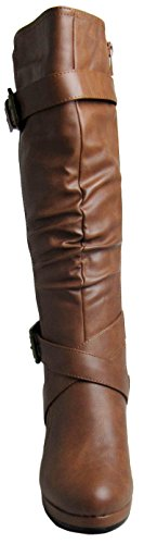 Forever Womens M 24 Juli 6 D Boots Tan US AAwrq