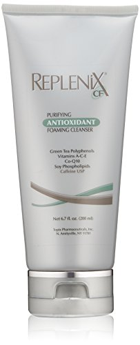 Replenix CF Purifying Antioxidant Foaming Cleanser for Sensitive Skin and Redness Reduction 6.7 Oz