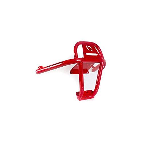 HMF IQ U4 Winch Front Bumper Polaris RZR   9355012666 Red (Rzr Winch Bumper)