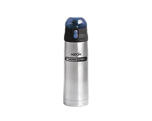 Milton Thermosteel Crown 600 Flask, 500ml, Silver