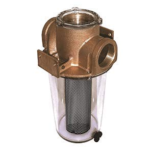 "GROCO ARG-2500 Series 2-1/2"" Raw Water Strainer Monel Basket"