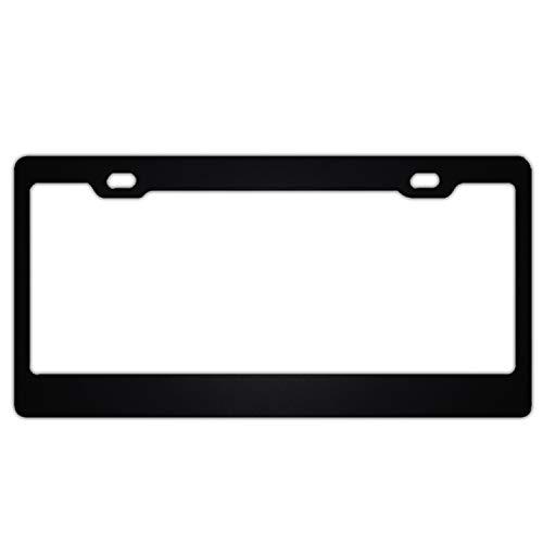 KSLIDS 3D Mark Lock License Plate Frame/Inspired License Plate Frame Waterproof Mental Denver Broncos 3d License Plate