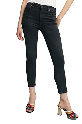 Rise Humanity High Of Citizens (Citizens of Humanity Rocket High-Rise Skinny Crop Black Jeans - 32)