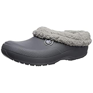 Crocs Unisex-Erwachsene Classic Blitzen Iii Clogs, Grau (Charcoal/Light Grey 01w), 36/37 EU 13